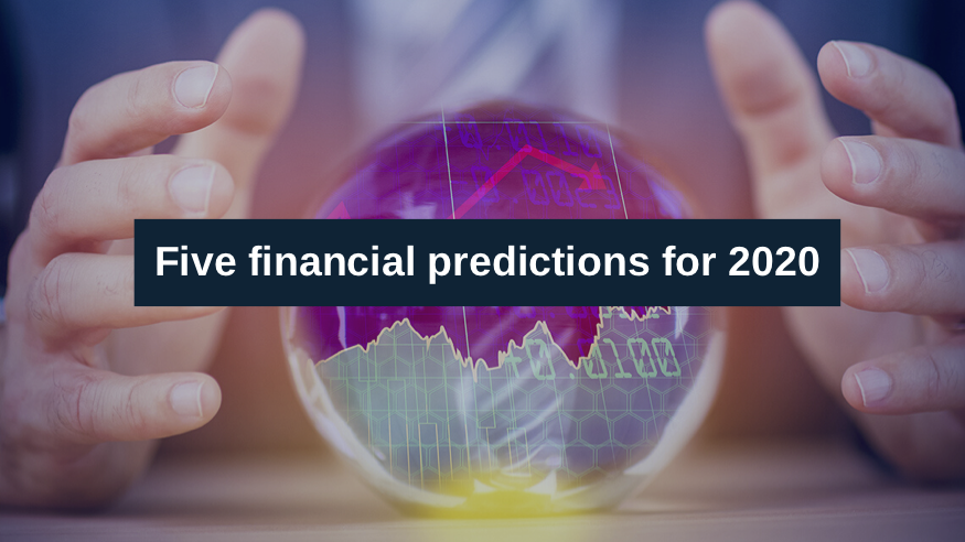 Title Image: Five Financial Predictions for 2020