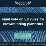 Final vote on EU rules for crowdfunding platforms