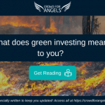 What does green investing mean to you?