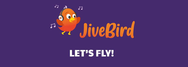 JiveBird Lets Fly Banner